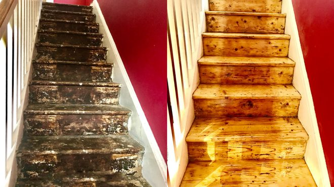 Floor refinishing in Dublin