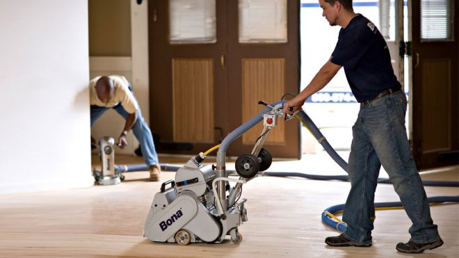 What Is Commercial Floor Sanding?