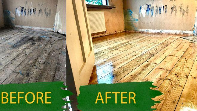 Floor Sanding On Your Own. A Good Idea?