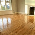 When floor refinishing, make it correctly