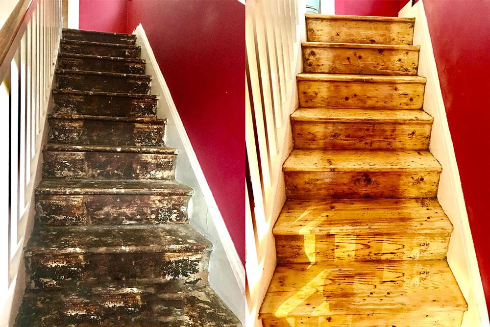 Stair Sanding