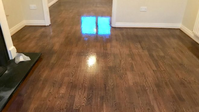 You will need floor sanding services because wood is better the carpet