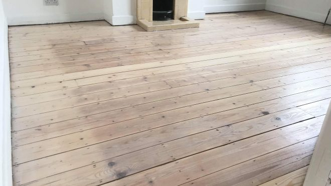Floor sanding on your own. A good idea?