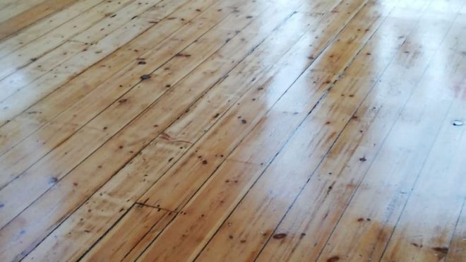 Scratches Galore And Messed Up Floors
