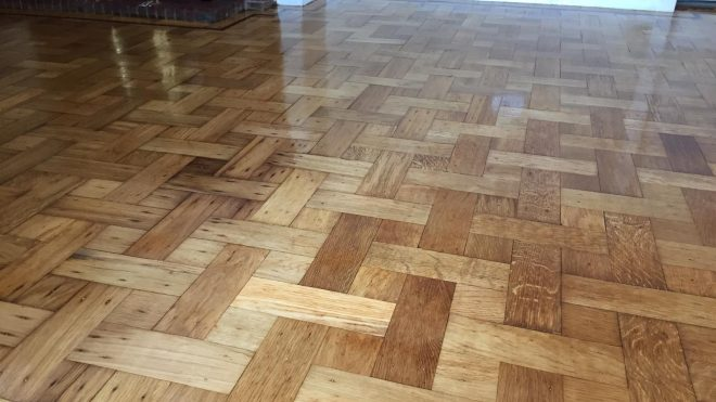 Giving Your Wood Floor A Facelift