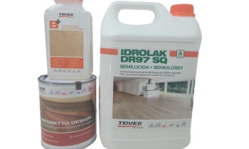 Making your Wood Floor Last Longer With The Tover Idrolak DR 97