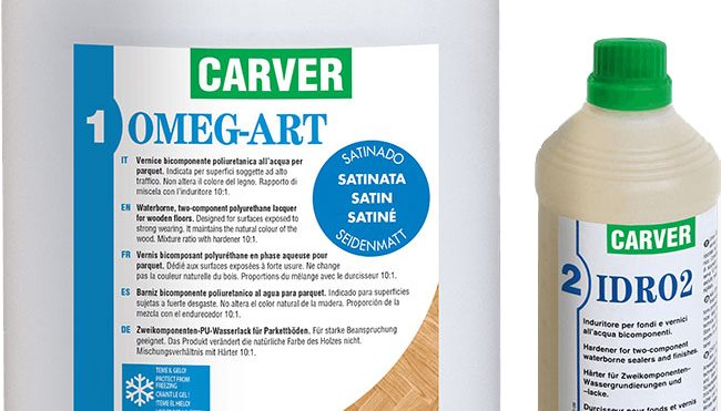 Carver Omeg-Art Floor Lacquer For A Quality Floor Finish